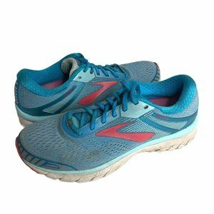 Brooks Womens Running Shoes Blue Size 9.5